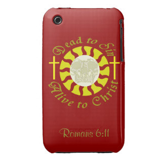 Dead to Sin - Alive to Christ: Romans 6:11 iPhone 3 Cover