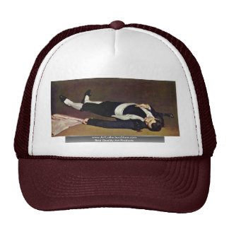 Dead Toreador By Manet Edouard Trucker Hat