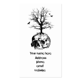 Dead tree Double-Sided standard business cards (Pack of 100)