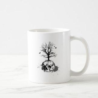 Dead tree coffee mugs