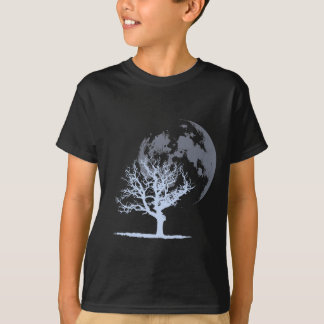 Dead Tree Moon (dark) T-Shirt