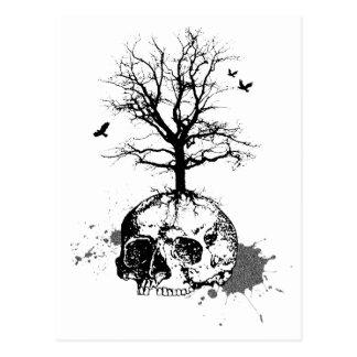 Dead tree postcards