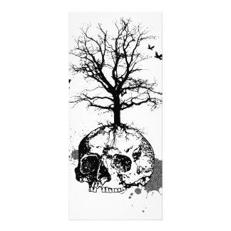 Dead tree rack cards