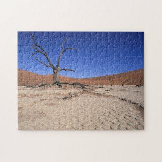 Dead Vlei, Sossusvlei, Namib-Naukluft National Jigsaw Puzzle