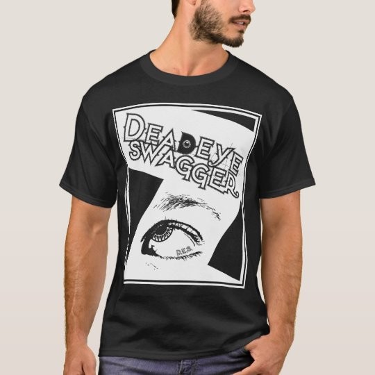 DeadEye Swagger DES Eye Stamp - Whiteout T-Shirt