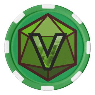 DEADLANDS - Green Team Poker Chip