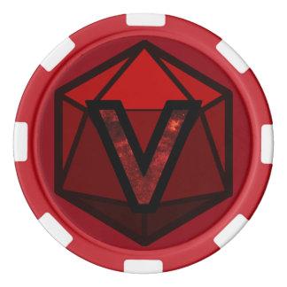 DEADLANDS - Red Team Poker Chip