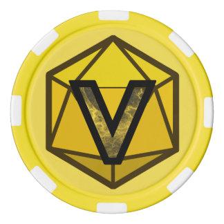 DEADLANDS - Yellow Team Poker Chip