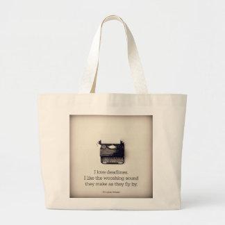 Deadlines Bag for Writer