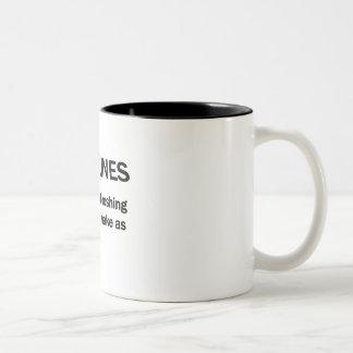 DEADLINES Two-Tone COFFEE MUG