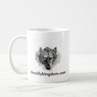 Deadly Kingdom Wolf Mug