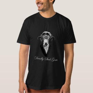 deadly Steel goats men dark T-Shirt