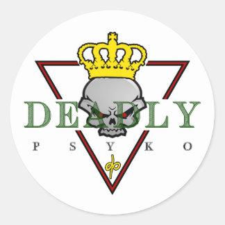 DeadlyPsyko Stickers