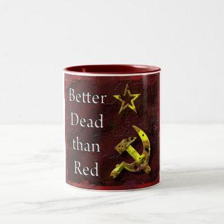 deadthanred Two-Tone coffee mug
