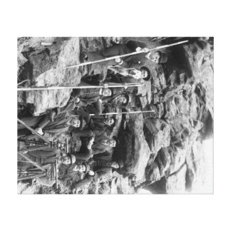 Deadwood Central Railroad Engineer Corps Gallery Wrapped Canvas