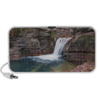 Deadwood Falls on Reynolds Creek in autumn in Travel Speaker