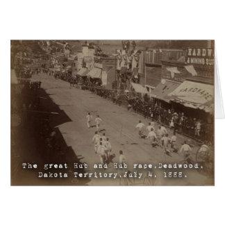 Deadwood Hub and Hub Race 1888 Cards