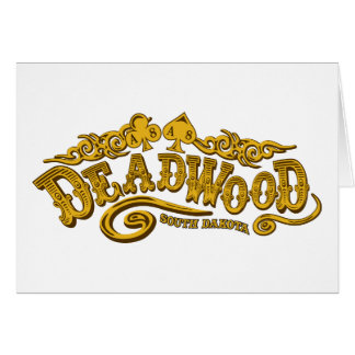 Deadwood Saloon Greeting Card