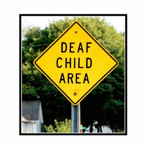 Deaf Child Area Photo Sculpture
