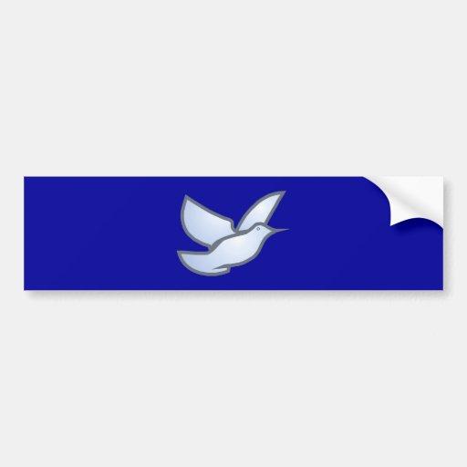 Deaf dove bumper sticker