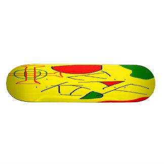 Deaf Kid! 20 Cm Skateboard Deck