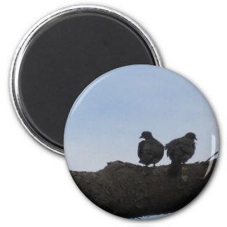 Deaf ones falls in love 6 cm round magnet