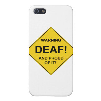 Deaf Proud iPhone 5 Covers
