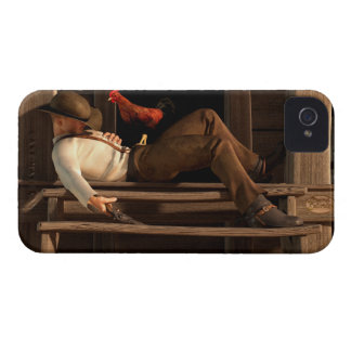 Deaf to the Rooster's Call iPhone 4 Covers
