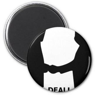 DEAL! Tshirt 6 Cm Round Magnet