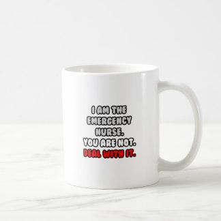 Deal With It ... Funny Emergency Nurse Mugs