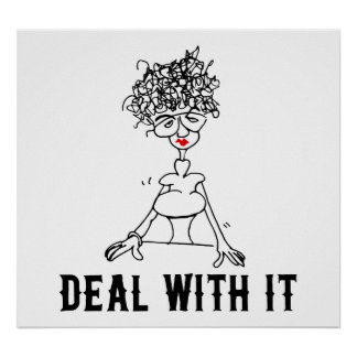 Deal With It Print