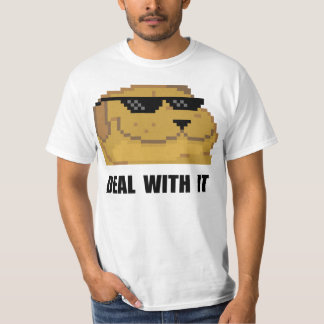 Deal With It Smugdog T-Shirt