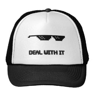 Deal With It Sunglasses Cap
