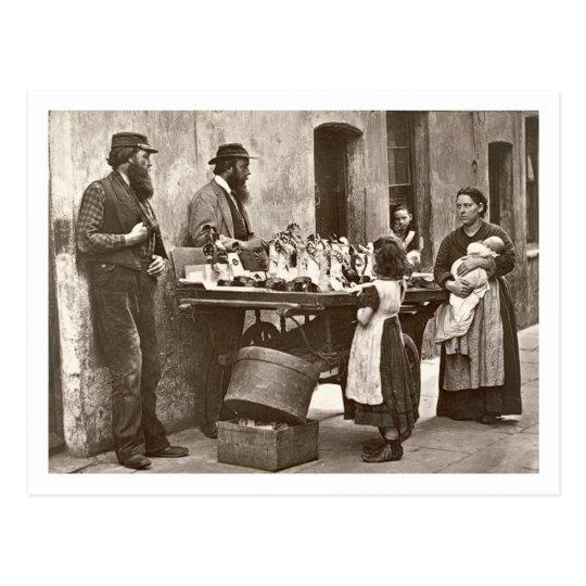 Dealer in Fancy Ware, 1876-77 (woodburytype) Postcard