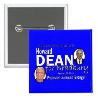 Dean for Bradbury 15 Cm Square Badge