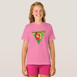 DeAngelis Martial Arts Girls Pink Shirt