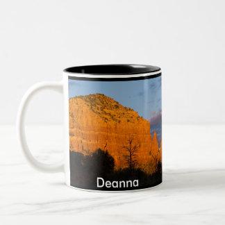 Deanna on Moonrise Glowing Red Rock Mug