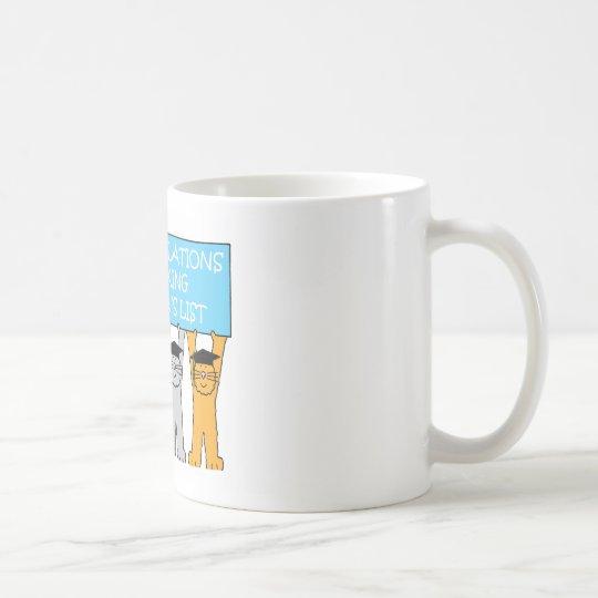 Dean's List Congratulations Coffee Mug