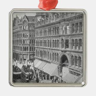 Deansgate, Manchester, c.1910 Christmas Ornament