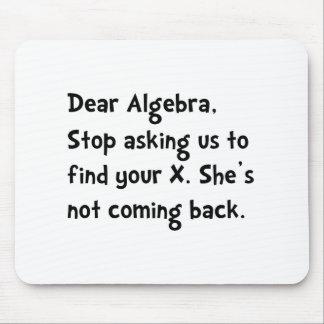 Dear Algebra Mouse Pad