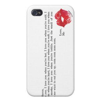 Dear Bacon iPhone 4 Case