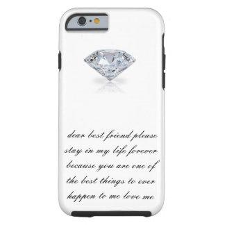 Dear best friend Case-Mate Tough iPhone 6/6s Tough iPhone 6 Case
