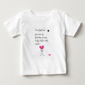 Dear Dad Baby T-Shirt