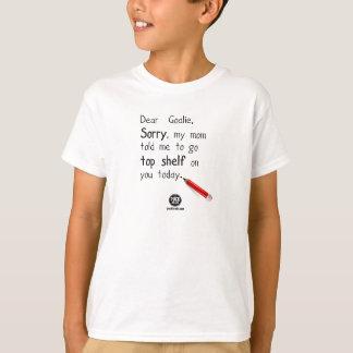 Dear Goalie, Sorry T-Shirt