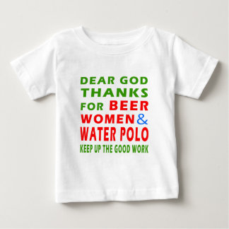Dear God Thanks For Beer Women And Water Polo
