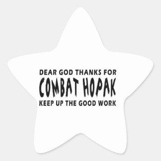 Dear God Thanks For Combat Hopak Keep Up Good Work Sticker