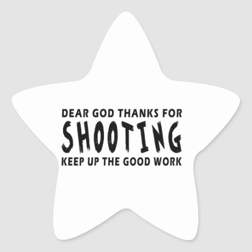 Dear God Thanks For Shooting Star Stickers