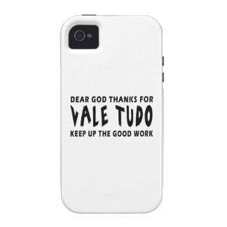 Dear God Thanks For Vale Tudo Keep Up Good Work iPhone 4/4S Cases