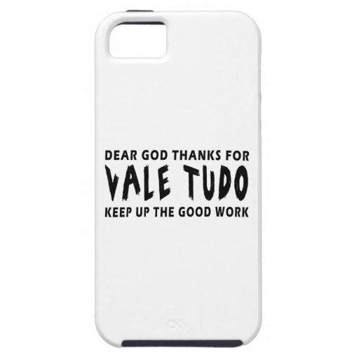 Dear God Thanks For Vale Tudo Keep Up Good Work iPhone 5 Cover