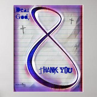 Dear God tween doodle poster